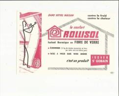 Buvard D´Isolant Thermique En Fibre De Verre ( Isover-Saint-Gobain - Other