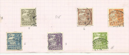 Danemark N°215, Et 217 à 221 Type 1 Côte 2.15 Euros - Used Stamps
