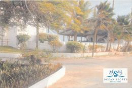 Ocean Sports Resort Hotel, Watamu, Kenya Postcard Used Posted To UK 2007 Stamp - Kenya