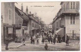 24 - Dordogne - TERRASSON - La Rue Rastignac - France