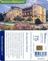 Telefonkarte Slowakei - Bardejovske Kupele - Architektur - Aufl. 50000 - 16/2001 - Slowakei