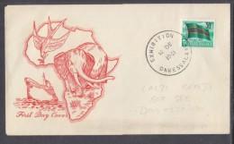 TANGANYIKA: 12 DE 1961 EXHIBITION DAR ES SALAAM C.d.s. On 30c Uhuru / Pictorial First Day Cover. - Tanganyika (...-1932)
