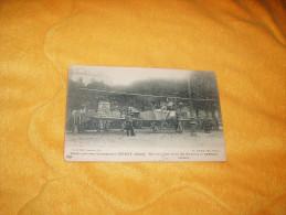 CARTE POSTALE ANCIENNE CIRCULEE DE 1917. / BIPLAN PRIS AUX ALLEMANDS A CERNAY (ALSACE). E. LE DELEY IMP. - Cernay
