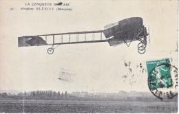 FRANCE  AEROPHILATELIC   AEROPLANE  BLERIOT   (o)  1914 - Airmail