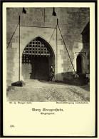 Burg Kreuzenstein  -  Eingangstor  -  Ansichtskarte Ca.1910    (3287) - Korneuburg