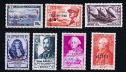 ALGERIE   Journées Du Timbre Et Autres Timbres De Bienfaisance * MH - Algérie (1924-1962)