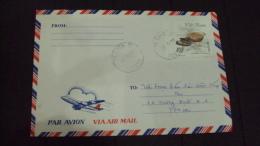Vietnam Viet Nam Cover With Bird Stamp - Vietnam