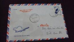 Vietnam Viet Nam Cover With Bird Stamp 1996 - Vietnam