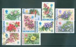 BERMUDA Teilsatz Aus Mi-Nr. 244 Bis 260 Mit Satzhöchstwert Blumen Gestempelt - Pflanzen Und Botanik