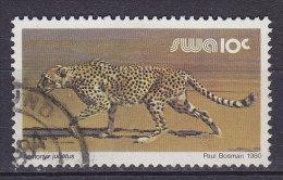 South West Africa 191980 Mi. 485 X   10 C Gepard - Namibie (1990- ...)