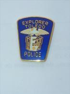 Pin's POLICE, EXPLORER TOLEDO - Police