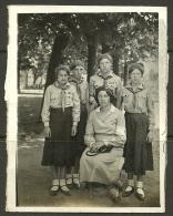Estland Estonia Estonie Ca 1925  Pfadfinderinnen Girl Scouts Guids Scouting Original Photograph - Scouting