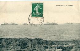 17 - Île D' Aix : L' Escadre - Francia