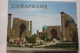 SAMARKAND. UNESCO. 12 Postcards Lot 1989 - Sherdar Medressa, Lions Gate, Registan - Uzbekistan
