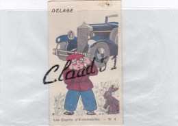 Chromos ;DELAGE, Les Capots D'Automobiles -N° 4, CHOCOLAT- MYDIA - Schokolade