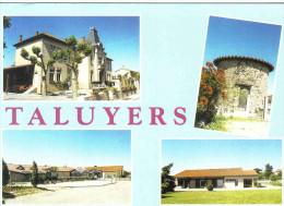 Carte Postale 69. Taluyers   Trés Beau Plan - Autres Communes