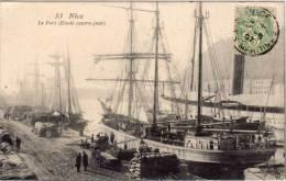 NICE - Le Port (Etude Contre Jour)  Voiliers    (68435) - Nice