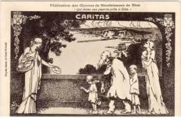 """NICE  Fédération Des Oeuvres De Bienfaisance """"Caritas""""  (68448) - Nice"""
