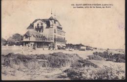 CPA - (44) Saint Brévin L'Océan - Le Casino, Pris De La Dune, Au Nord - Saint-Brevin-l'Océan