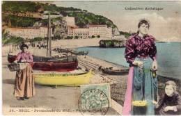 NICE  - Promenade Du Midi - Poissonnières      (68453) - Nice