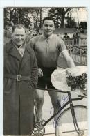 GUILLEMOT , Autographe Manuscrit, Dédicace. 2 Scans. Photo Picoche - Cyclisme