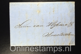 Germany, Complete Letter From Stettin / Szczecin  To Amsterdam, 1864