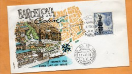 Spain 1965 FDC - FDC
