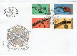Yugoslavia, 1979, Museum Exhibits, FDC - FDC