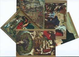 RELIGION-Lot De 5 Cartes (Le BUISSON ARDENT/ L´ADORATION DES MAGES/ La NATIVITE .....scan R/V Des 5  Cartes* PRIX FIXE - Christentum