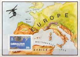 Gibraltar MNH SS - Space