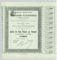 Cie Internationale Des Wagons Citernes - Chemin De Fer & Tramway