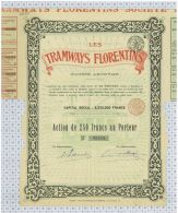 Les Tramways Florentins - Railway & Tramway