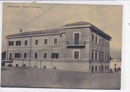 CARD VALMONTONE  PALAZZO COMUNALE PIEGA COME DA SCANNER   (ROMA)     -FG-V-2-  0882-20585 - Non Classificati