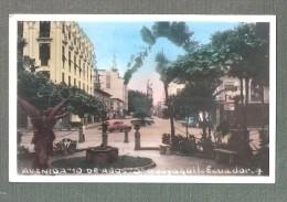 ECUADOR Ecuador RP Avenida 10 De Agosto Guayaquil - Ecuador - Equateur