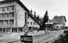 Cpsm COL De La Faucille Sur La N5, DOUANE, Magasins De Souvenir, Buvette, 2CV, 203  .(36.43) - Customs
