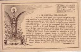 VENDO N.1CARTOLINA MILITARE(PREGHIERA DEL SOLDATO) FORMATO PICCOLO DEL 1920 CIRCA NON VIAGGIATA PERFETTA - Guerra 1914-18