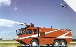 *ITALIA: VVFF - SQUADRE AEROPORTUALI* - Scheda Usata - Public Practical Advertising