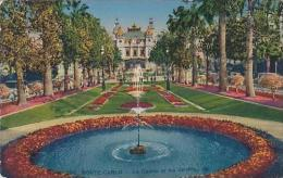 Monaco Monte Carlo Le Casino Et Les Jardins - Exotic Garden