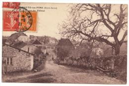 70 - BEAUMOTTE LES PINS - Place Du Tilleul - Rare - Francia