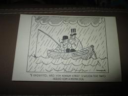Postcard Carte Postale Churchill Roosvelt England USA Prince Wales Propaganda Guerre WWII - Documents