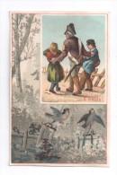 Image, Pincée, Vierge Trace De Colle Au Verso - Vieux Papiers