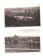 2 X POSTCARDS Tschechische Republik  Czech Republic PRAG PRAHA PRAGUE L05 - Tchéquie