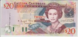 East Carribeans  20 Dollars 2003 Pick 44k UNC - Caraïbes Orientales