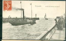 Trouville  -   Sortie Du Bateau Du Havre    -  LFN141 - Ferries