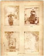 8  PHOTOS ANCIENNES De L´ ILE  DE  GROIX -  1893   -   Photos D´ Enfants Et Personnages - Ancianas (antes De 1900)
