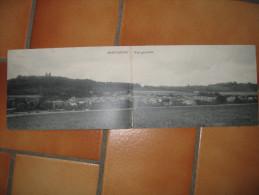 55 DOUBLE CARTE MONTMEDY VUE GENERALE 1913 - Montmedy