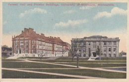 FOLWELL HALL AND PHYSICS BUILDINGS - Minneapolis