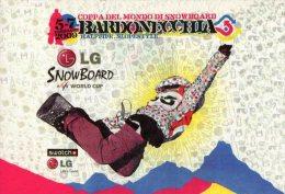 [DC1240] CARTOLINEA - COPPA DEL MONDO SI SNOW BOARD - BARDONECCHIA - TORINO - 2009 - Wintersport