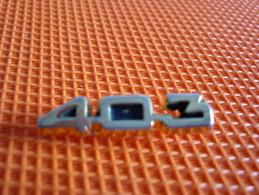 Voiture  403 Peugeot - Peugeot