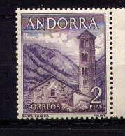 ANDORRA  - N° 56** - EGLISE DE SANTA COLOMA - Andorre Espagnol